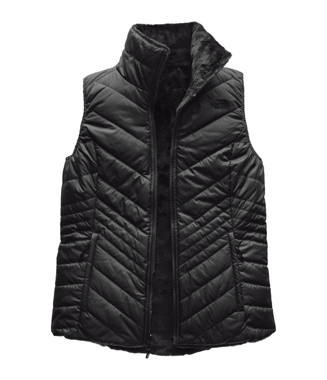 The North Face Mossbud Insulated Reversible Vest Women's- TNF Black