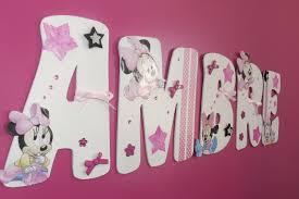 chambre minnie mouse décoration chambre minnie