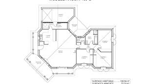 plan de maison 4 chambres beau modele de maison en u interesting