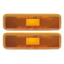 Amazon.com: Pair Of Front Signal Side Marker Light Lamp Replacement ... 25 Oval Truck Led Front Side Rear Marker Lights Trailer Amber 10 Xprite 7 Inch Round Super Bright 120w G1 Cree Projector 4 Rectangular Lamp Light For Bus Boat Rv 12 Clearance Speedtech 12v 3 Indicators 4pcs In 1ea Of An Arrow B52 55101 Amber Marker Lights Parts World Vms 0309 Dodge Ram 3500 Bed Side Fender Dually Marker Lights 1pc Red Car Led Truck 24v Turn Signal 2018 24v 12v For Lorry Trucks 200914 F150 Front F150ledscom Tips To Modify Vehicle With Tedxumkc Decoration