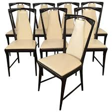 Mid-Century Modern Set Of 8 Borsani Mahogany And Faux Leather Italian Chairs Pin By Simpler Pr On Industrial Inspo In 2018 Pinterest Lexi Ding Chair Pair Gold Metal And White Linen Fabric Byron Of Chairs Urban Deco Athena Black High Gloss Slatted Nita Upholstered Ims Stock Photos Images Alamy Moooi Nut Lumigroup 25 Modern That Will Bring Style To Your Table Art Fniture Village Calligaris Home Design Architecture Ahoy Cream At