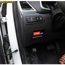 Luhuezu ABS Car Fuse Box Cover For Hyundai Tucson 2015 2016 2017