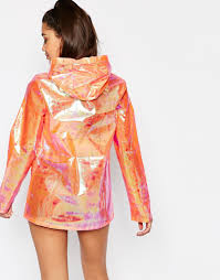 why you need missguided holographic raincoat the fashion champ