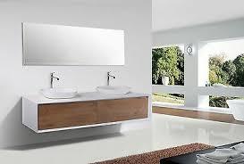 doppelwaschtisch 190cm badezimmer set weiß eiche waschbecken
