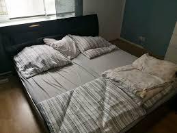 schlafzimmer bett kommode