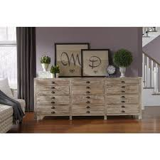 Peter Andrews Furniture and Gifts Reclaimed Wood Apothecary Chest