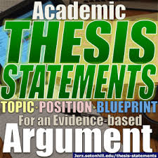 When Write Is Wrong October by Thesis Statements How To Write Them In Academic Essays Jerz U0027s