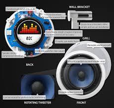 Polk Ceiling Speakers India by 82c Silver Ticket 8 120 Watt 2 Way In Ceiling Speaker With