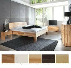 schlafzimmer wallis buche massivholzbett kommode lowboard nachttisch