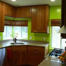 Kitchen Wall Colour Combinations And Cabinet Color Gallery Pictures