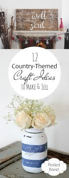 12 Country Themed Craft Ideas To Make Sell