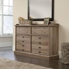 Shoal Creek Dresser Oiled Oak by Sauder 418902 Barrister Lane Salt Oak Dresser