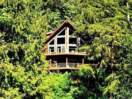 100 Tree Houses With Hot Tubs 07mf Silver Lake Chalet W Tub