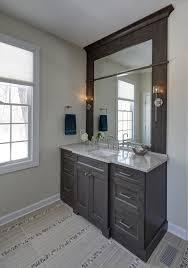 greige master bathroom transitional bathroom chicago