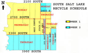 Waste Management Christmas Tree Pickup Schedule by South Salt Lake City Utah Ace Recycling And Disposal