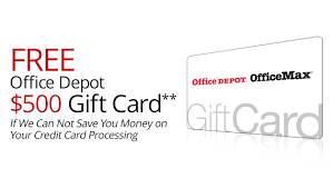 fice Depot Merchant Credit Card Processing