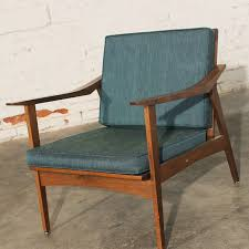 SOLD Vintage Mid Century Danish Modern Chair Made In Yugoslavia
