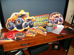100 Monster Truck Birthday Party Supplies Support Blog For Moms Of BOYS Jacks MONSTER JAM 4th