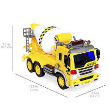 100 Toy Cement Truck Amazoncom Best Choice Products 116 Scale Friction Powered