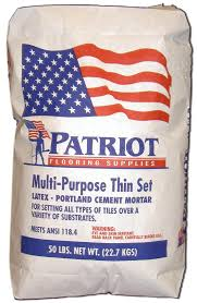 Mapei Porcelain Tile Mortar Msds by Tile Setting Materials Patriot Flooring Supplies