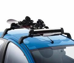 porte skis sur barres de toit 4 paires de skis ref 961758