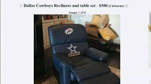 Craigslist Leather Sofa Dallas by Dallas Cowboys Recliner Chair Dallas Cowboys Leather Recliner