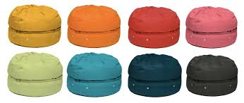 store your stuff in a bean bag or is it a macaron bag cool