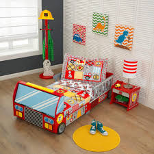 Fire Truck Toddler Bed | Kidkraft – Junior Bambinos Transportation Theme For Toddlers Kids Truck Videos Ambulances Police Cars And Fire Trucks To The Garbage For Surprise Toys Car Toy Unboxing Firetruck Fun Engine Sticker Book Bahuma 28 Collection Of Drawing High Quality Free Show Children E3024 Hape How Increase Safety Awareness In Hurry Drive Song Songs