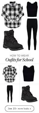 School Day Norm By Amylangg On Polyvore Featuring Timberland And Boohoo