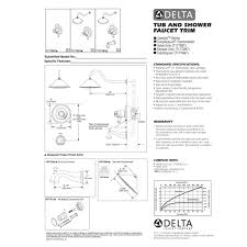 Delta Faucets Cassidy Line by Delta Faucet T17t097 Pn Cassidy Polished Nickel One Handle Valve