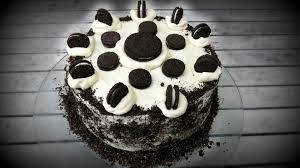 Oreo Cookies & Cream Chocolate Cake Video Simple Cooking Club