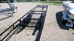 100 Hoosier Truck And Trailer 22 To 24 Center Lift Pontoon Trailer Tandem Axle Classic
