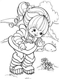 Rainbow Brite Online Coloring Pages