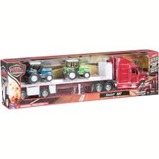 NewRay Long Haul Trucker Peterbilt 387 Playset - Walmart.com
