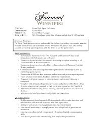 sle hotel front office manager front office manager resume
