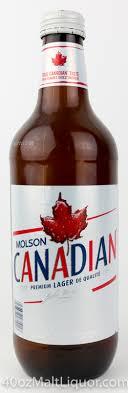 40ozMaltLiquor Molson Canadian