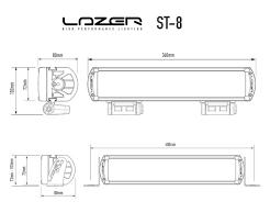 100 Lazer Truck Lines Buy Lamps ST8 LED Driving Lamps Demon Tweeks