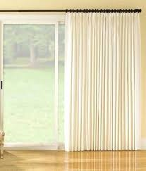Sliding Door Curtains Curtain Clever Design For Doors French Patio