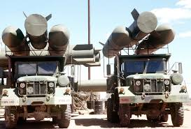 100 Army 5 Ton Truck Makeshift SCUD Missile Launchers Are Mounted On Top Of Two