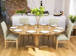 Wonderful Ideas Extra Large Round Dining Room Tables Person ...