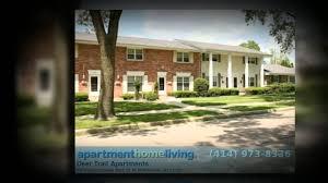 3 Bedroom Apartments Milwaukee Wi by Deer Trail Apartments Milwaukee Apartments For Rent Youtube