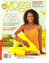 Yoga Journal Cover And New Website