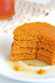 Easy Healthy Pumpkin Pancake Recipe by Healthy Pumpkin Oatmeal Blender Pancakes The Bakermama