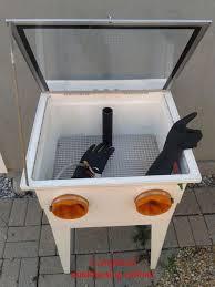 Bead Blast Cabinet Vacuum by Sandblasting Cabinet