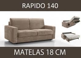 canap lit vrai matelas canape lit 3 places master convertible ouverture rapido 140 cm