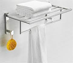 amgend badezimmer regale einreihige chrom silber wand rack