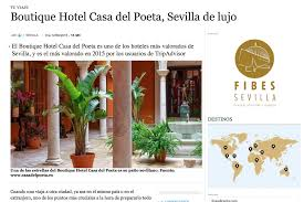 Hotel Patio Andaluz Sevilla by Hotel Con Encanto En Sevilla Opiniones De Casa Del Poeta