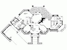 6000 Square by Eplans Chateau House Plan European Chateau 6000 Square