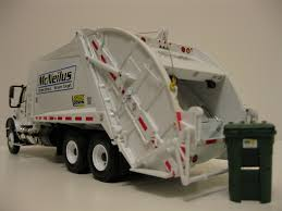 First Gear Waste Management Rear Load Garbage Truck W. Bin… | Flickr