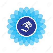 le symbole composée sur un fleur de lotus recommandée impression d